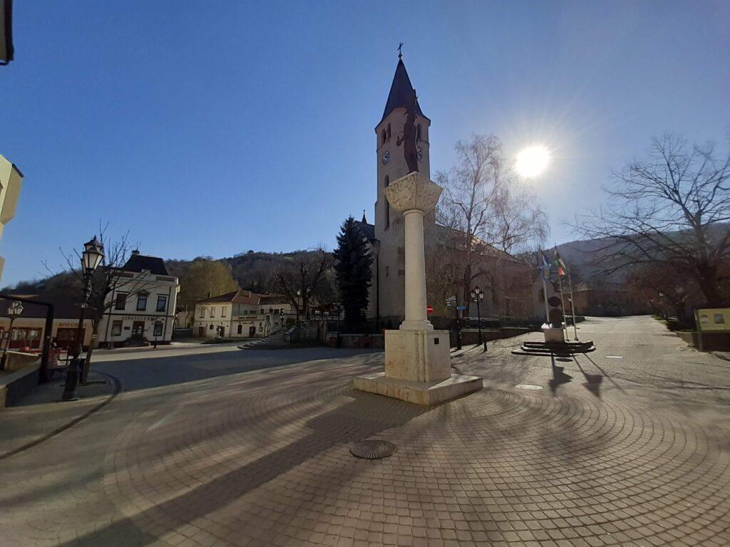 Tokaj fő tér